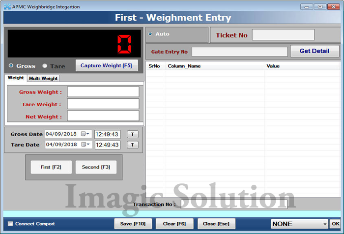 eNUM Weighbridge Software