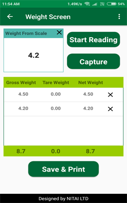 tea farmer - live weighing capture