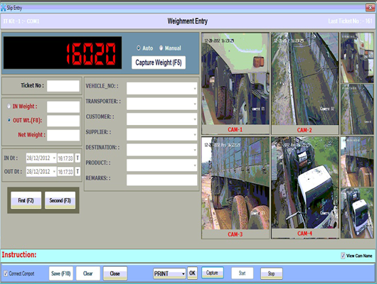 CCTV Weighbridge Software